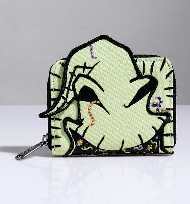 Loungefly The Nightmare Before Christmas Oogie Boogie Creepy Crawlies Zip Around Wallet