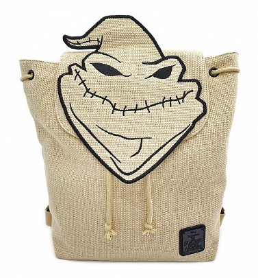 Loungefly The Nightmare Before Christmas Oogie Boogie Man Burlap Backpack