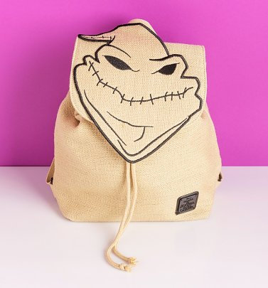 Loungefly Disney The Nightmare Before Christmas Oogie Boogie Man Burlap Backpack