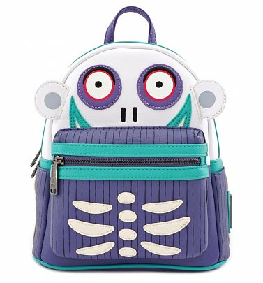 Loungefly Disney The Nightmare Before Christmas Oogie's Boys Barrel Mini Backpack