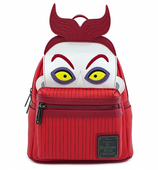 Loungefly Disney The Nightmare Before Christmas Oogie's Boys Lock Mini Backpack