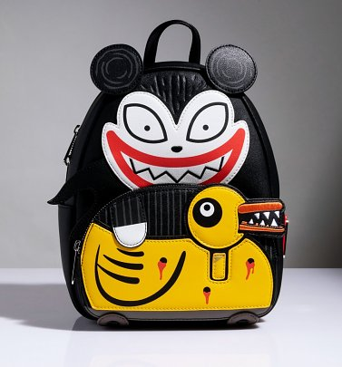 Loungefly The Nightmare Before Christmas Scary Teddy and Undead Duck Mini Backpack