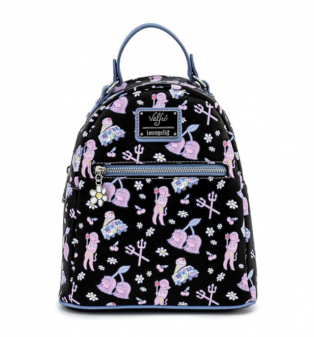 Loungefly Valfre Lucy Art All Over Print Mini Backpack