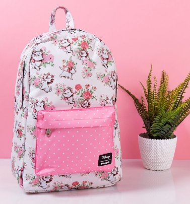 Loungefly x Disney Marie Floral Print Backpack