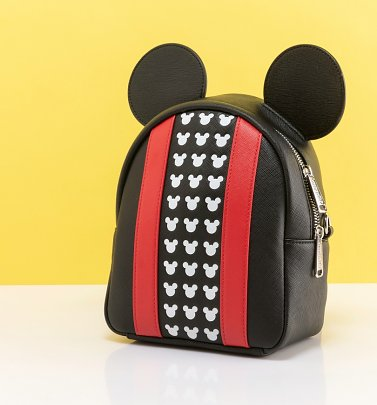 Loungefly x Disney Mickey Mouse Applique Detail Backpack