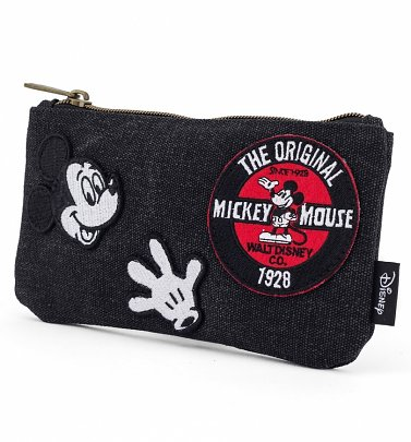 Loungefly x Disney Mickey Mouse Patches Pouch