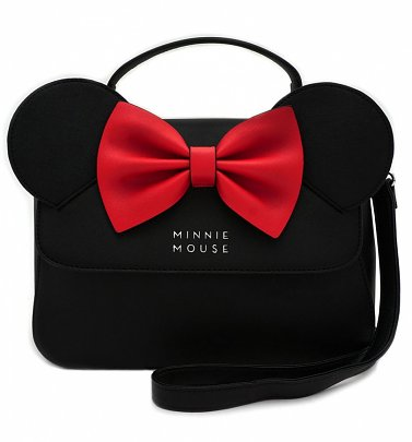 Loungefly x Disney Minnie Ears & Bow Crossbody Bag