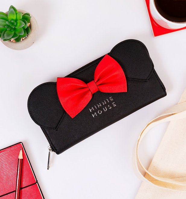 Loungefly Disney Minnie Ears & Bow Wallet