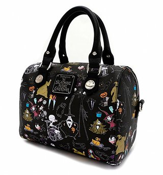 Loungefly x Disney Nightmare Before Christmas Duffle Bag