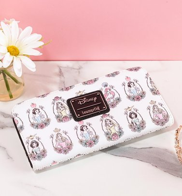 Loungefly x Disney Princess Printed Wallet