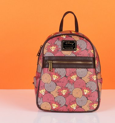 Loungefly Disney The Lion King Printed Mini Backpack
