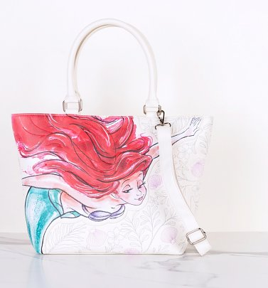 Loungefly x Disney The Little Mermaid Ariel Tote Bag