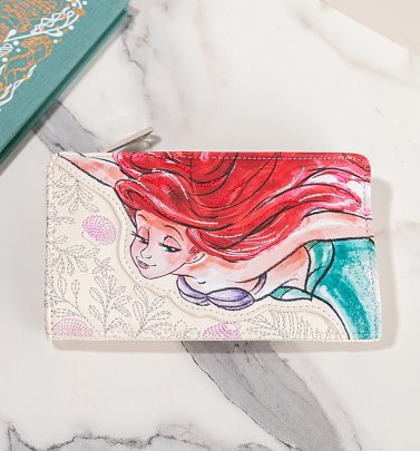 Loungefly Disney The Little Mermaid Bi-fold Ariel Wallet