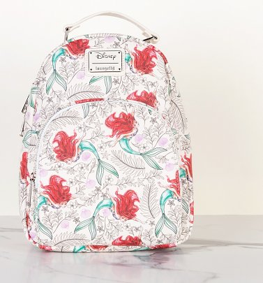 Loungefly Disney The Little Mermaid Printed Mini Backpack