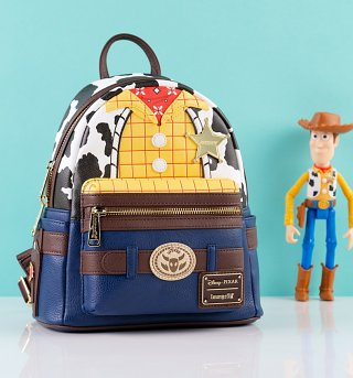 Loungefly Disney Pixar Toy Story Woody Mini Backpack
