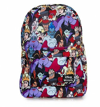 Loungefly x Disney Villains Full Colour Print Backpack