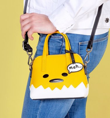 Loungefly x Gudetama Face Micro Cross Body Bag