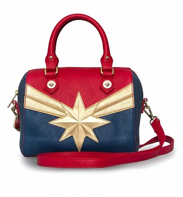 Loungefly x Marvel Captain Marvel Crossbody Bag