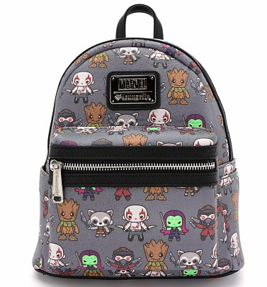 Loungefly x Marvel Guardians of the Galaxy Kawaii Mini Faux Leather Backpack