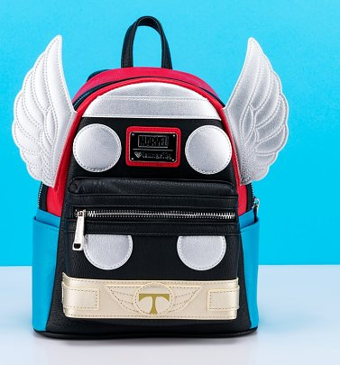 Loungefly x Marvel Thor Cosplay Mini Backpack