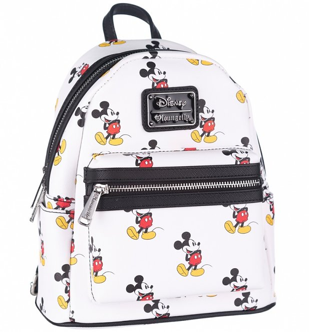 Loungefly x Disney Mickey Mouse Faux Leather Mini Backpack