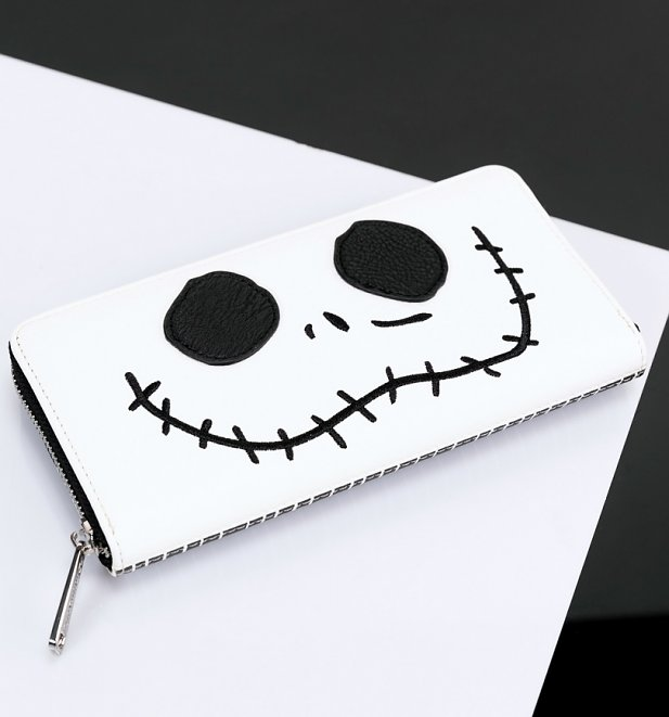 The Nightmare Before Christmas Jack Face Wallet