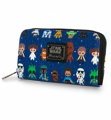 Loungefly x Star Wars Baby Character Print Wallet