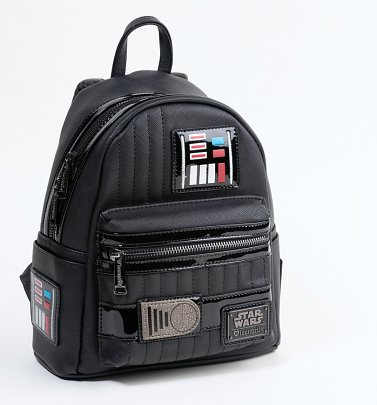 Loungefly Star Wars Darth Vader Mini Faux Leather Backpack