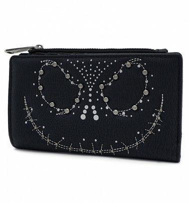 Loungefly x The Nightmare Before Christmas Jack Studded Wallet
