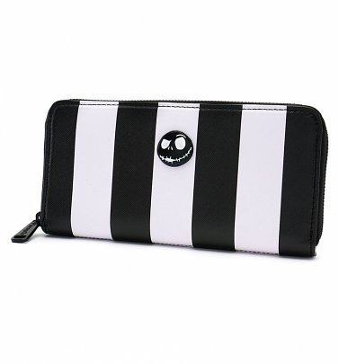 Loungefly x The Nightmare Before Christmas Striped Wallet