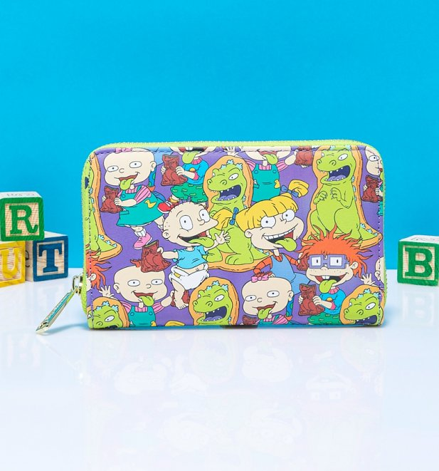 Loungefly Rugrats All Over Print Wallet