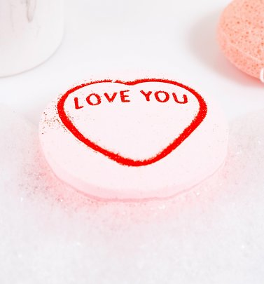 Love Hearts I Love You Bath Bomb