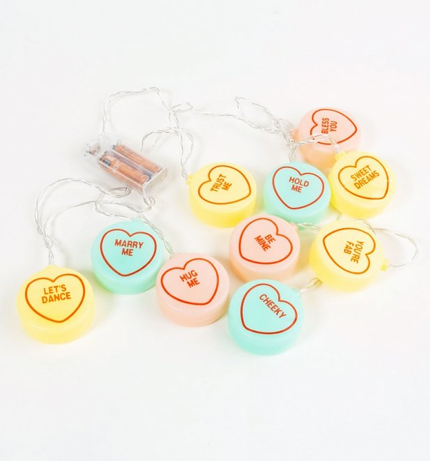 Love Hearts String Lights