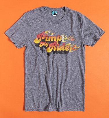 AWAITING APPROVAL IMAGERY SENT 14/10 MTV Pimp My Ride Grey Marl T-Shirt