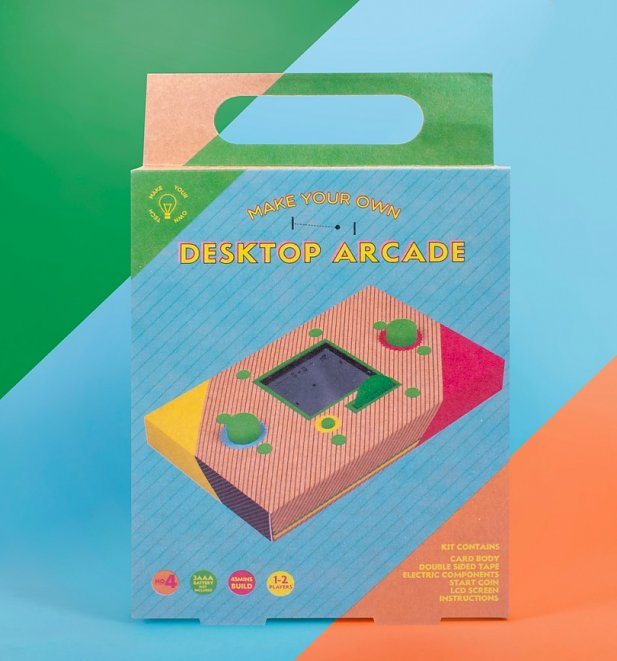 Make Your Own Desktop Arcade Kit