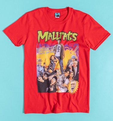 Mallrats Movie Poster Red T-Shirt
