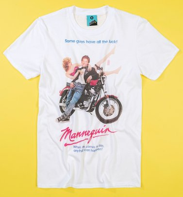 Mannequin Movie Poster White T-Shirt
