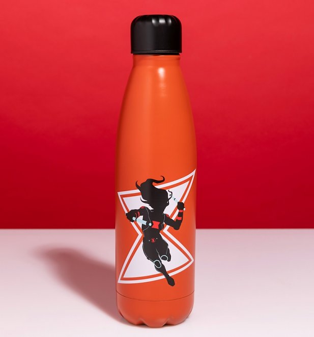 Marvel Black Widow Metal Water Bottle