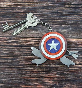 Marvel Comics Avengers Captain America Multi Tool