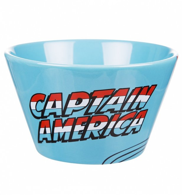 Marvel Comics Captain America Ceramic Bowl