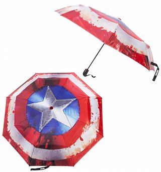 Marvel Comics Captain America Civil War Shield Umbrella