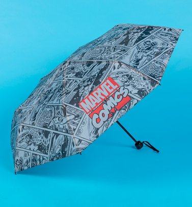 Marvel Comics Comic Strip Umbrella