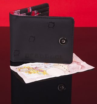 Marvel Comics Deadpool Inside Print Wallet