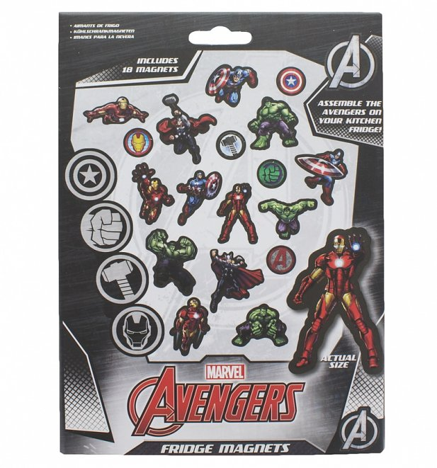 Marvel Comics Fridge Magnets