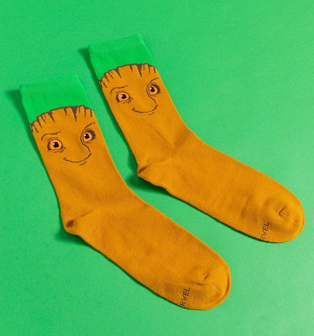 Marvel Comics Groot Socks