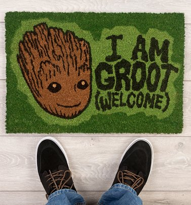 Marvel Comics Guardians Of The Galaxy Vol.2 I Am Groot Door Mat