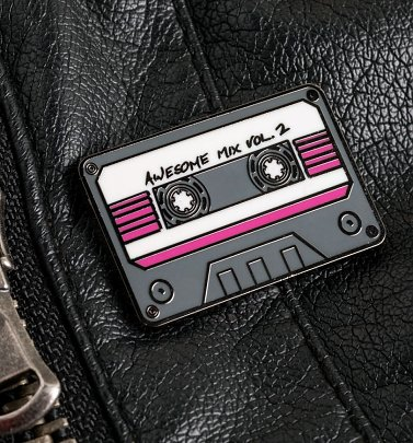 Marvel Comics Guardians of the Galaxy Mix Tape Enamel Pin Badge