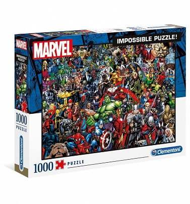 Marvel Comics Impossible 1000 Piece Jigsaw Puzzle