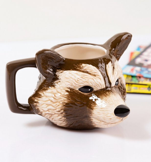 Marvel Comics Rocket Raccoon Shaped Mug