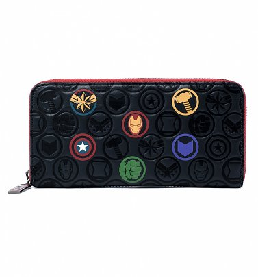 Marvel Icons All Over Print Wallet from Loungefly